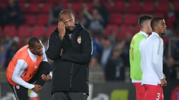 Thierry Henry is still looking for his first win as Monaco coach