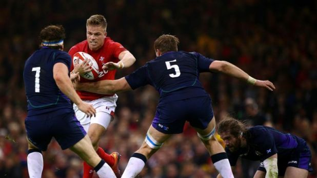 Gareth Anscombe impressed against Scotland last week