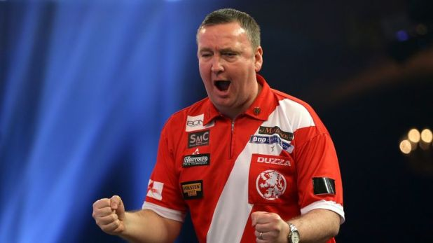 Glen Durrant reached the Grand Slam quarter-final in 2017 and has already set his sights on at least matching that