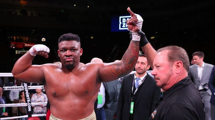 Jarrell Miller is undefeated in 24 fights as a professional