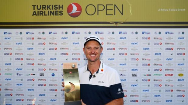 Rose defended his Turkish Airlines Open crown to return to the top of the world rankings