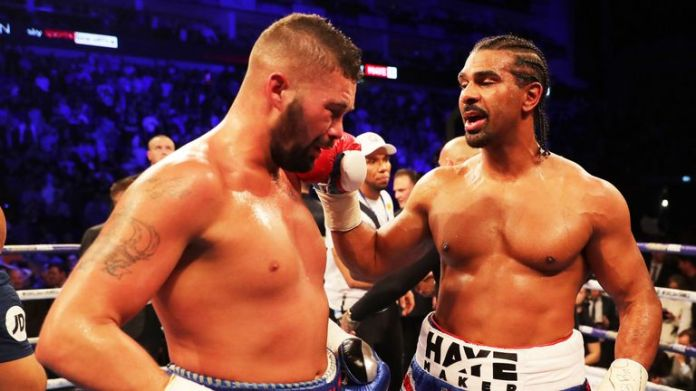 David Haye has given advice to former opponent Tony Bellew
