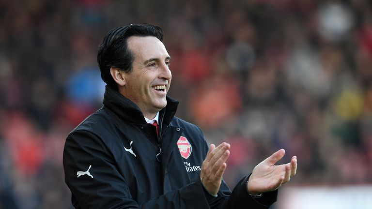 Unai Emery could make changes for Arsenal's trip to the Ukraine