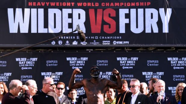 Wilder was the lightest he has been since he made his professional debut