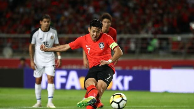 Heung-Min Son will represent South Korea at the AFC Asian Cup