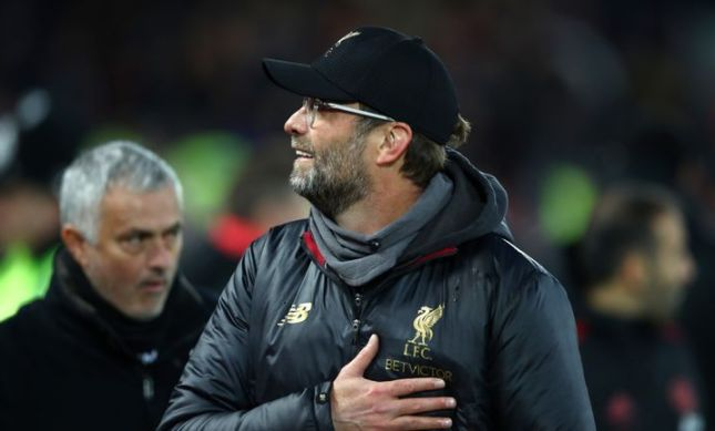 The gulf between Jose Mourinho and Jurgen Klopp's teams is huge