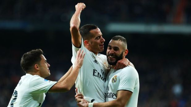 Lucas Vazquez scored a late second to seal victory