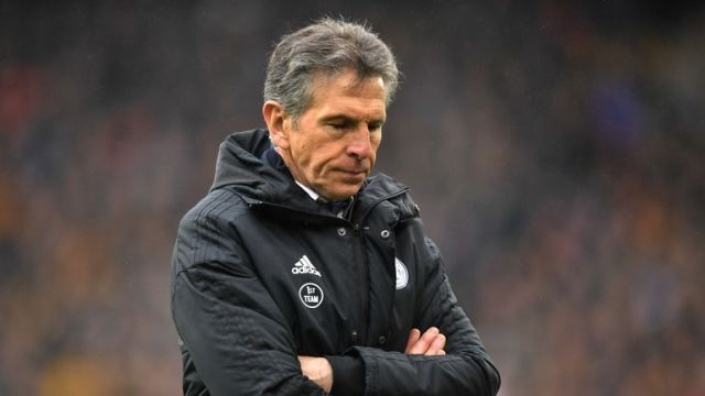 Claude Puel was sacked by Leicester on Sunday after 16 months at the King Power Stadium