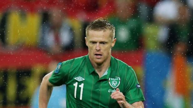 Damien Duff has joined the youth set-up at Celtic