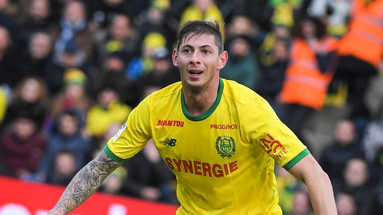 Sala joined Nantes in 2015 and was a regular goalscorer for the French club