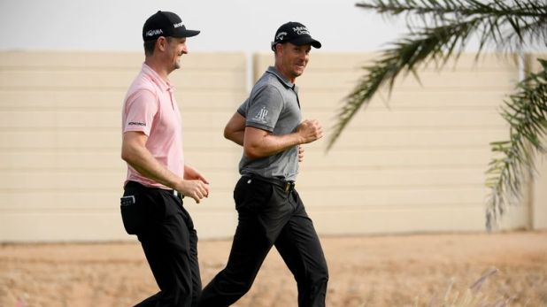 Rose and Stenson will play alongside eachother for the first two rounds