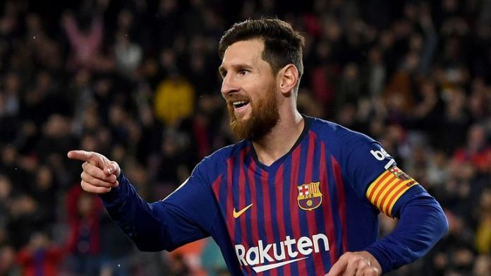 Lionel Messi is still the captain of Barcelona