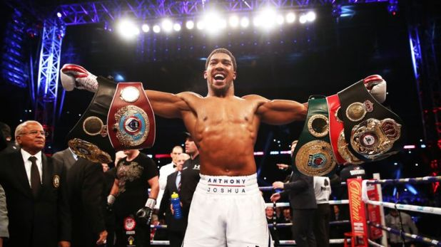 Anthony Joshua is awaiting an update on his opponent for his US debut