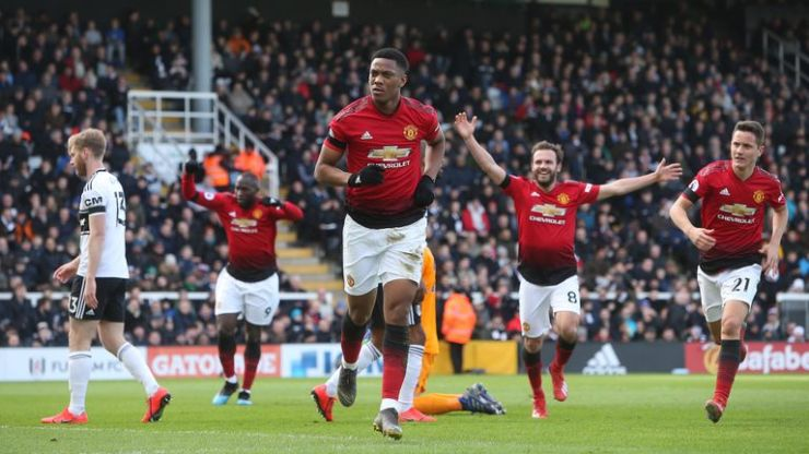 Image result for manchester united under solskjaer + martial  PSG manager reveals the Manchester United stars he is scarred of facing skysports anthony martial manchester united 4572466