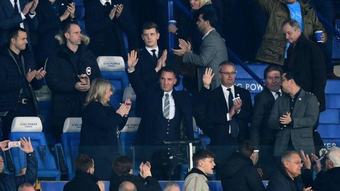 Brendan Rodgers verließ Celtic nach Leicester