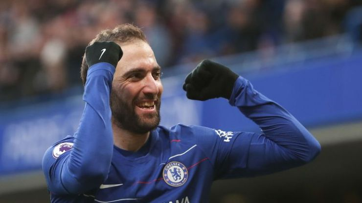 Related image  Higuain, David Luiz Score Twice As Hazard Reach Career Milestone In Chelsea Victory skysports gonzalo higuain chelsea 4565652