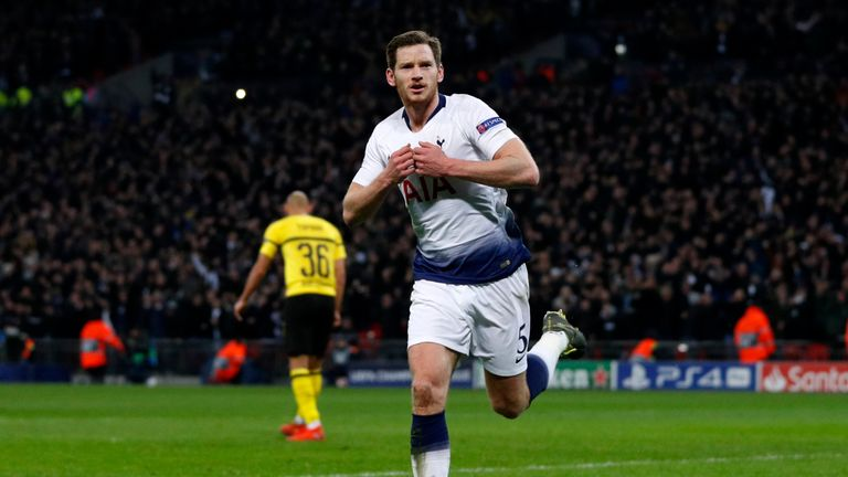 Vertonghen says he wants to focus on the year ahead