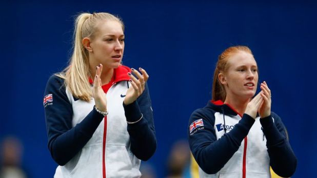 Jocelyn Rae admitted being left emotionally drained after watching GB's Fed Cup success from the bench