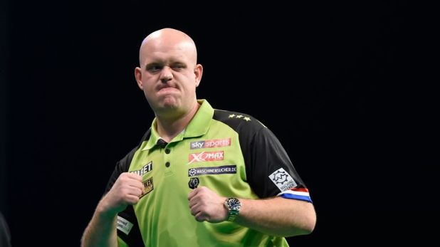 Van Gerwen claimed back-to-back Matchplay titles in 2015 and 2016