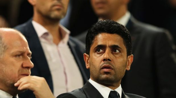 Nasser Al-Khelaifi appointed Tuchel to replace Unai Emery at the Parc des Princes last May
