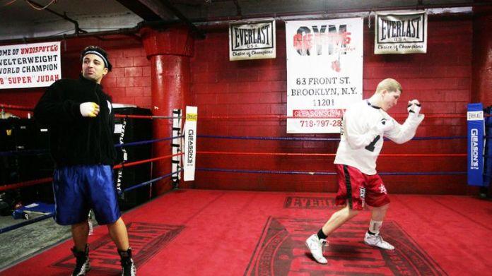 Paulie Malignaggi has used Gleason's Gym in the past