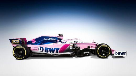 Image result for 2019 racing point f1 2019 Formula 1 Liveries