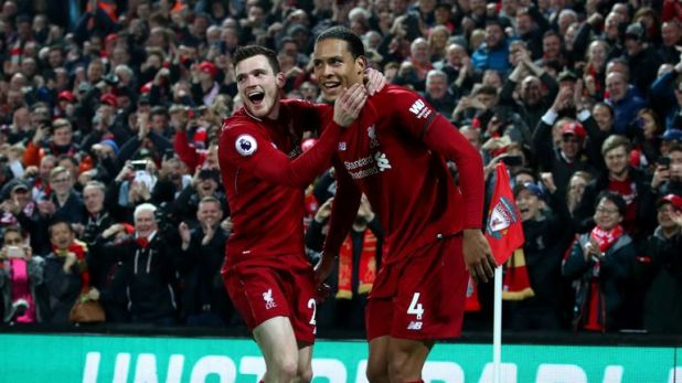 Andrew Roberton and Virgil van Dijk are fifth and first respectively in the form guide