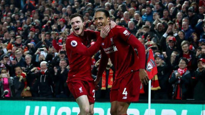 Virgil van Dijk and Andrew Robertson have solidified Liverpool's defense
