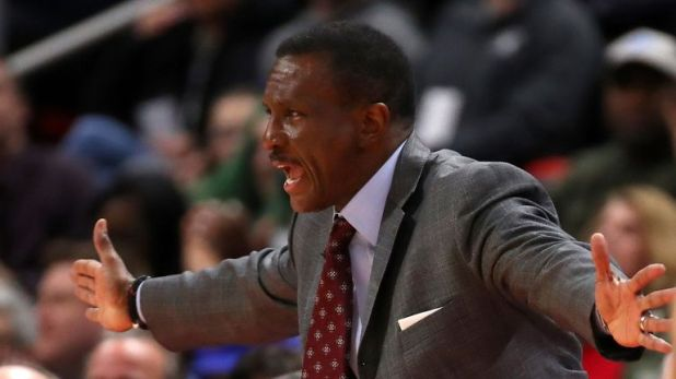 Head caoch Dwane Casey demands more from his players