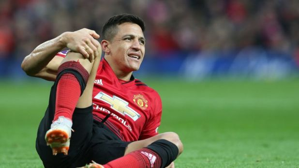 Alexis Sanchez faces another spell on the sidelines