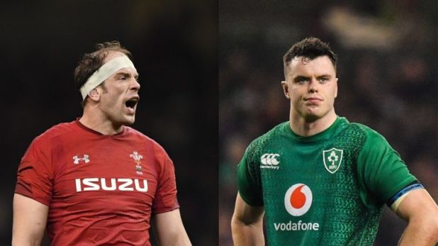 Alun Wyn Jones and James Ryan will go head to head in Cardiff