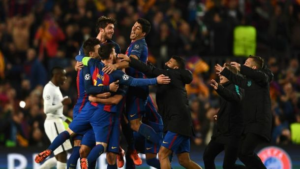 Barcelona staged their incredible comeback against PSG at this stage of the competition two years ago
