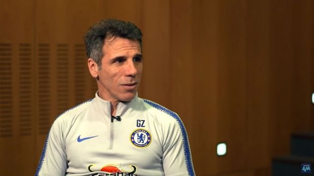 Gianfranco Zola picks his ultimate five-a-side team, made up of former team-mates