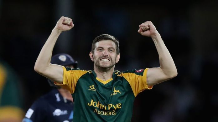Harry Gurney helped Nottinghamshire clinch a white-ball double in 2017