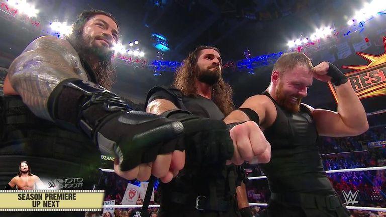 The Shield enjoyed a glorious final reunion at Fastlane
