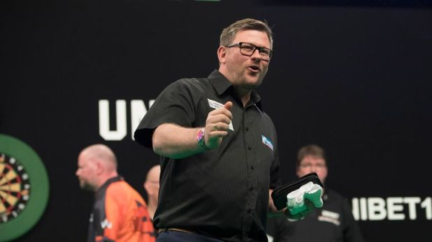 James Wade continued his winning streak with back-to-back Players Championship titles