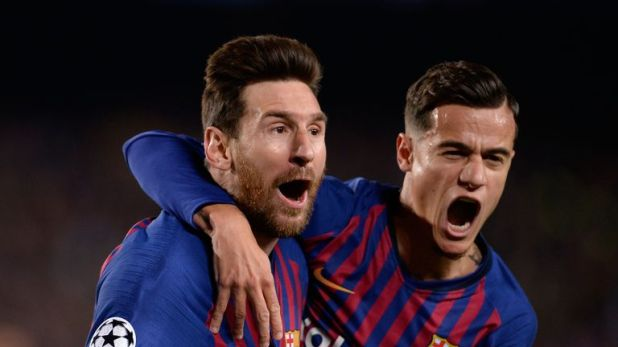Lionel Messi, Philippe Coutinho and Barcelona were too strong for Manchester United in their quarter-final