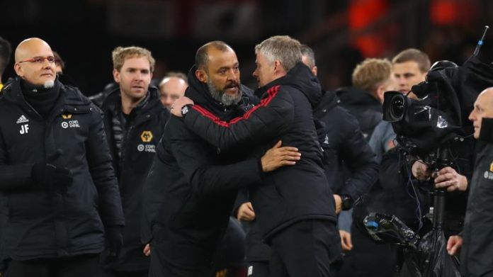 The wolves aim to beat Manchester United for the second time in less than three weeks