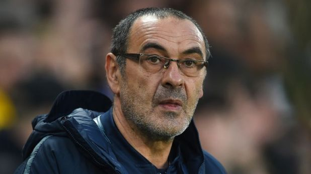 Maurizio Sarri has two years remaining on his Chelsea contract