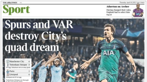 The Times - April 18