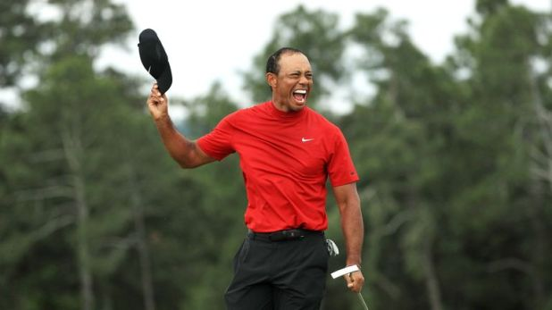 Woods' win also moves him to 81 PGA Tour victories and within one of Sam Snead's all-time record