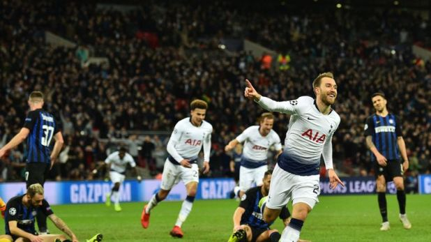 Spurs fan Holder was at Wembley in November to see Christian Eriksen seal a 1-0 win over Inter Milan