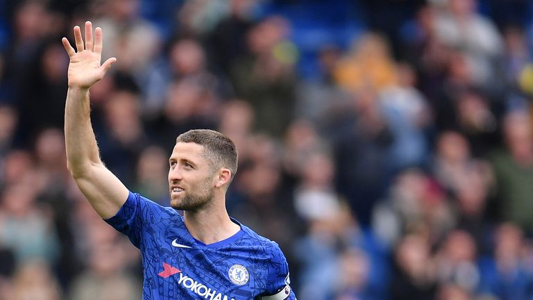 Cahill made just two Premier League appearances for Chelsea last season