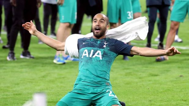 Lucas Moura scored the all-important goal for Tottenham in their dramatic semi-final against Ajax