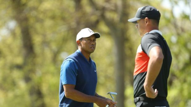 Woods felt that Koepka's 63 could have been a couple better