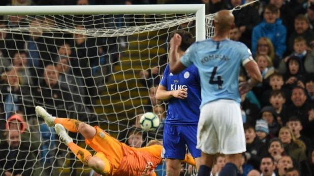 Kompany's wonder goal against Leicester came in his last home game for City