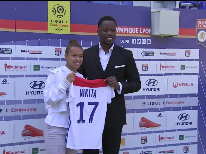 the wsl s all time top scorer nikita parris talks about her move from manchester city to lyon who have just won their fourth champions league in a row