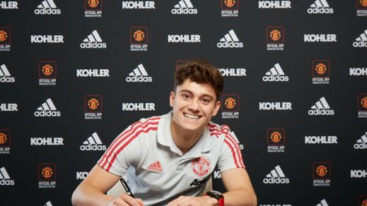 Image result for daniel james signs for manchester united