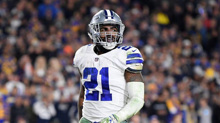 Ezekiel Elliott absent from Dallas Cowboys training camp
