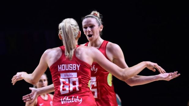 Helen Housby and Jo Harten are the goalscoring double act that is firing hopes of a first World Cup for England